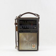 1960s Transistor Radio I really really wanted this. I got one wrapped in a box, in a box, in a box and inside another box one Christmas morning