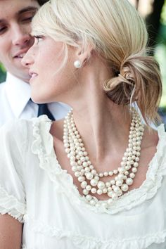 better view of the pearls  : - )  Photography by kensingtonblue.com