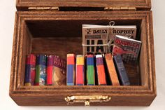Deluxe Harry Potter Miniature Book Set by LittleLiterature on Etsy