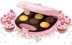 Máquina para hacer cupcakes en siete minutos