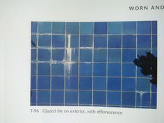 Judy A Juracek - Surfaces Glazed tile on exterior, with eflorescece Glazed Tiles, No Way Out, Surface, Exterior, Vitrified Tiles, Outdoor Rooms