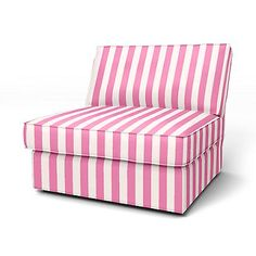 Candy Pink/Absolute White Stockholm Stripe Panama Cotton