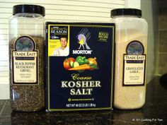 Homemade Everyday Seasoning Salt - 7:2:1 Mix (and 7:2:2) - From 101 Cooking For Two