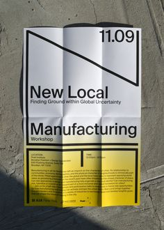 WeShouldDoItAll — AIA New Local Type Design, Layout Design, Design Art, Graphic Design, Brochure Layout, Brochure Design, Booklet Design, Type Posters, Interior Sketch