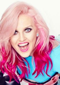 Perrie Edwards her hair is perfect in every pic i see