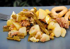 Asopaipas. Recetas de Cocina Casera                                                               .: Ensalada de Papas y Judías Verdes