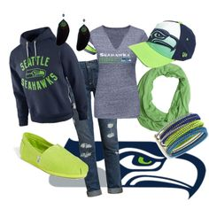 """Seattle Seahawks"" by ashley-patrice-powell on Polyvore"
