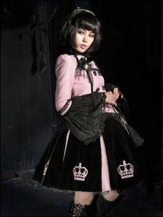 Punk Rave Princess Lolita Skirt Punk Rave, Punk Goth, Punk Princess, Bright Hair, Girly Outfits, Knee Length Dresses, Pastel Goth, Lolita Fashion, Gothic Lolita
