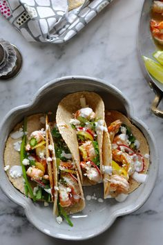 Weeknight Shrimp Tac
