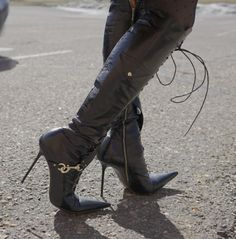 Thigh High Boots, High Heel Boots, Heeled Boots, Remix Shoes, Stiletto Boots, Latex Girls, Long Boots, Leggings, Sexy Boots