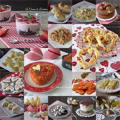Una raccolta di tante semplici e sfiziose Ricette per San Valentino, dall'antipasto al dolce, per rendere meraviglioso il giorno più romantico dell'anno