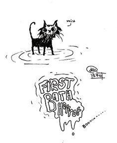 Katerina Pappou: First Bath Horrror  - day370