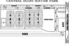 St. Thomas Soccer - St. Thomas, Ontario Map