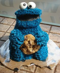 Fancy - Cookie Monster Cake