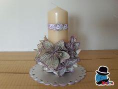 Kreattivablog: Centrotavola per matrimonio chic con origami