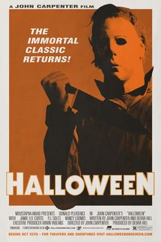 1978 Movie Poster Gallery > Halloween Poster #8