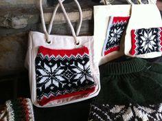 Suddenly a Norwegian bag Knitting DIY
