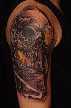 Tattoo by Jimmy Hellspawn custom tattoo