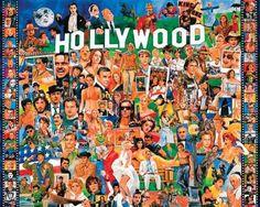WHITE MOUNTAIN PUZZLES-Hollywood: