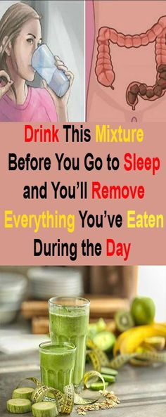 Drink This Mixture Before You Go to Sleep and You'll Remove Everything You've Eaten During the Day - Healthy Living Nova Detox To Lose Weight, How To Lose Weight Fast, Loose Weight, Healthy Aging, Healthy Beauty, Stay Healthy, Diet Drinks, Healthy Drinks, Health Articles