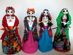 catrinas de papel mache   Flickr - Photo Sharing!