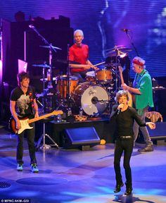 The Rolling Stones perform in concert at the Verizon Center in Washington earlier this week ( June 24, 2013). Still a jumping jack flash: THE STONES