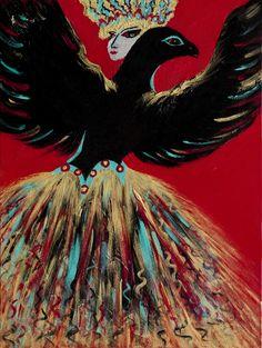The Fierce Wills of the Dark Bird and Lady
