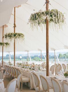 Featured Photographer: Sylvie Gil Photography; Wedding reception ideas.