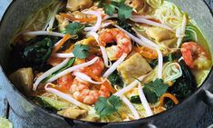The Hairy Bikers' 30-minute miracles: Chicken and prawn laksa