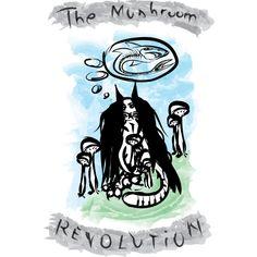 The Mushroom Revolution T Shirt T Shirt By ElArrogante Design By Humans Ringer Tee, Cowl Neck, Revolution, V Neck T Shirt, Stuffed Mushrooms, Shops, Art Prints, Design, Tents