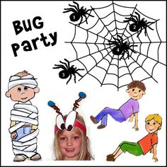 Bug Birthday Party Ideas from www.daniellesplace.com