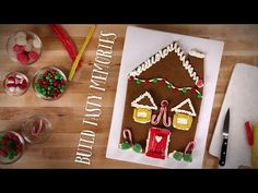 Giant Gingerbread House Cookie recipe from Betty Crocker