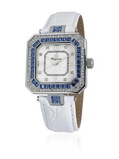 Burgmeister Reloj de cuarzo 171-116B Plata / Blanco 34  mm