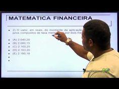 Aula Grátis - Matemática - Juros Compostos - Professor Marcos Antônio - YouTube
