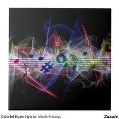 Colorful Music Style