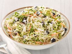 Blueberry Coleslaw : Michael Symon's unexpected cabbage-blueberry pairing will be the salad everyone's talking about at your next picnic.