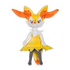Image for Braixen Poké Plush (Large Size) - 10 In. from Pokémon Center Pokemon Full, Pokemon Plush, Pikachu, The 4, Country Of Origin, Tinkerbell, Disney Characters, Fictional Characters, Size 10