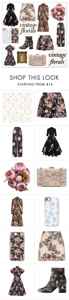 """Vintage florals 🌸"" by mystyleanna ❤ liked on Polyvore featuring Voodoo Vixen, STELLA McCARTNEY, Casetify, Incipio, La Perla, Charlotte Russe and vintage"