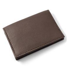Brun X20 Læder Kortholder - 149,00kr