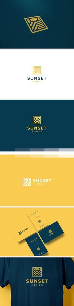 Sunset Home on Behance