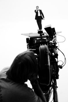 Greg Williams shoots Daniel Craig as James Bond