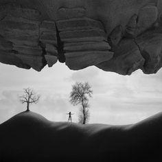 Buy The Arch, Black & white photograph (Giclée) by Dariusz Klimczak on…
