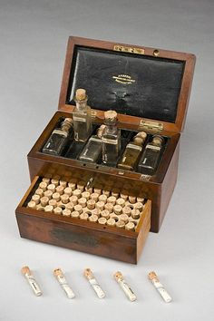 File:Homeopathic medicine chest, Northamptonshire, England, 1801- Wellcome L0057796.jpg