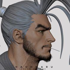 ArtStation - Haohmaru, Tushar Dobriyal Psychedelic Art, Character Art, Male Face, Zbrush Models, Comics Artwork, Hands On Face, Face Illustration, Art, Proportion Art
