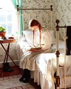 Anne of Green Gables, Anne of Avonlea, Anne of the Island, etc. Anne with an 'E' Anne Shirley, Principe William Y Kate, Lifestyle Fotografie, Victoria Magazine, Anne With An E, Woman Reading, Children Reading, Prince Edward Island, Character Inspiration