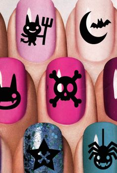 gothic nail art - Bing images