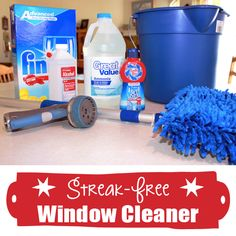 Make Your Own Streak-Free Window Cleaner!