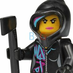 The Lego Movie - Wyldstyle Minifigure form Melting Room 70801