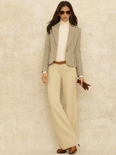 Magnolia Tweed Jacket - Jackets  Women - RalphLauren.com