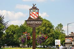 Harpenden, a lovely country town just north of London, UK.